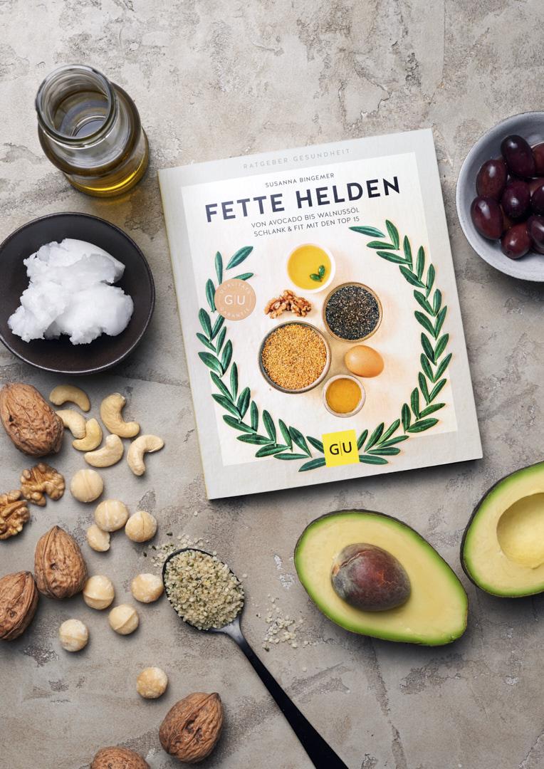 Gesunde Fette stillife Fette Helden Buch Susanna Bingemer